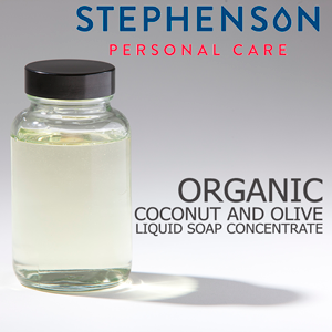Organic Coconut and Olive Liquid Soap Concentrate