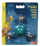 Classic Plastic Half Ball W/ Bells-Living World