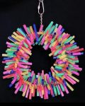 Lg Straw Wreath - Bird Toy Creations