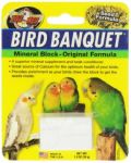 Sm Original Mineral Block-Zoo Med Bird Banquet