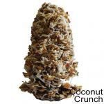 Coconut Crunch Natural Candy Cone Treat