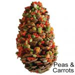 Peas & Carrots Natural Candy Cone Treat