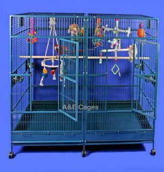 80 x 40 Double Macaw w/ Doors Stainless Steel A&E