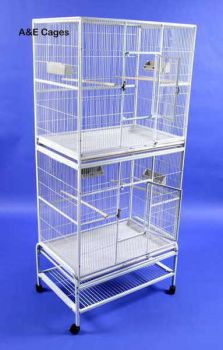 32 x 21 Double Stack Flight Cage A&E Cage