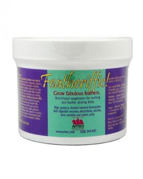 16oz Featheriffic Conditioning Supplement- Avitech