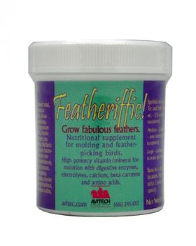 8oz Featheriffic Conditioning Supplement- Avitech