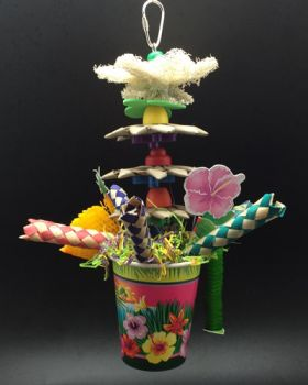 Flower Pot-Happy Beaks Made In The USA