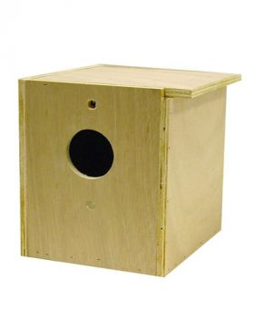 Parakeet Nesting Box Inside/Out