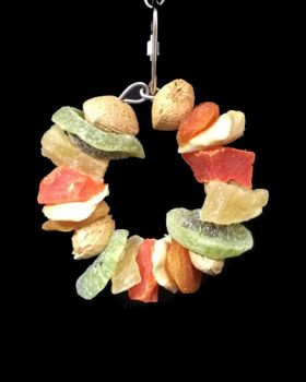 Sm Fruit & Almond Ring-Happy Beaks Made In USA