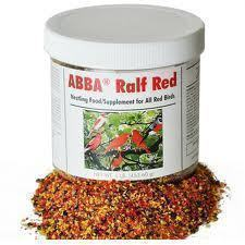 1lb Ralf Red Color Food For Red Factor Canaries