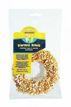 Multi-Grain Popped Swing Ring-Sun Seed Vita Prima