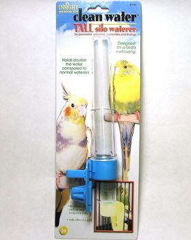 Tall Silo Bird Waterer JW Insight