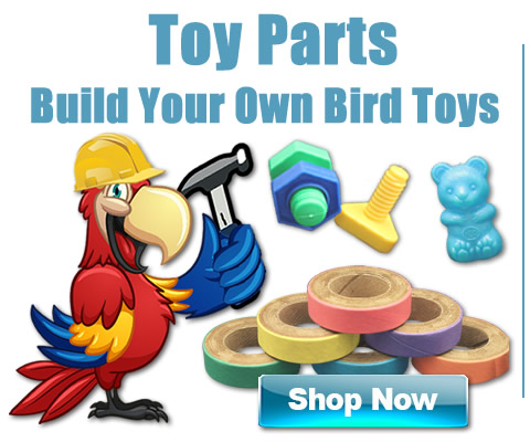 make your own toys for birds supplies link
