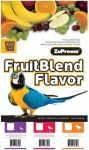 17.5lb Large Parrot Fruit Blend-Zupreem large