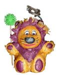 Lion Mini Pinata-Fetch It Pet Polly Wanna
