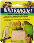 Sm Fruit Mineral Block-Zoo Med Bird Banquet