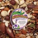 Shelled Patagonian Nut Blend Bulk  lb-Goldenfeast