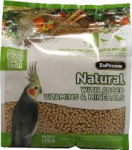 Med Cockatiel Natural Pellets Bulk-Zupreem