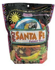 20oz Santa Fe Parrot Treat-Brown's