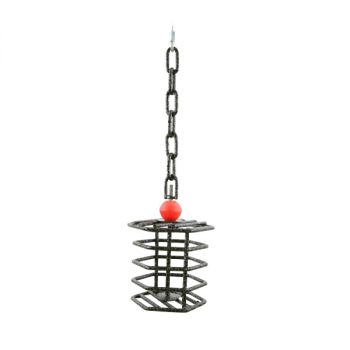 Sm Hexagon Hanging Fillable Cage-Happy Beaks