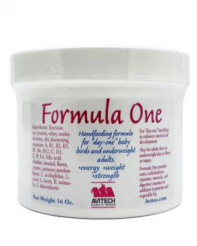 16oz Formula One Handfeeding Supplement - Avitech