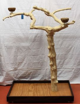 Lg Java Tree Bird Stand