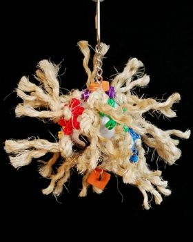 Sisal Explosion - Bird Toy Creations
