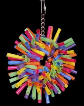 Sm Straw Wreath - Bird Toy Creations
