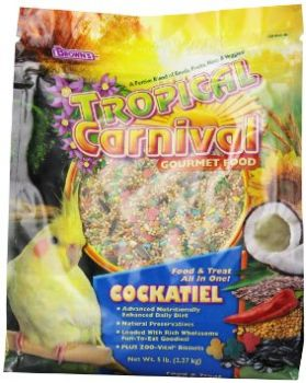 5lb Tiel Tropical Carnival-Brown's
