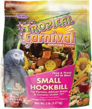 5lb Sm Hookbill Tropical Carnival-Brown's