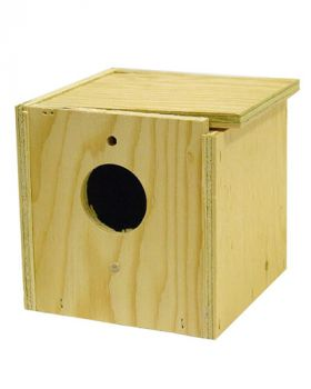Finch Nesting Box Inside/Out