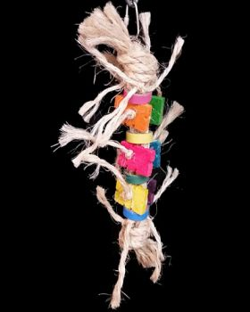 Lots Of Sisal Knots - Grasshopper Toys