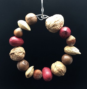 Ring Of Mixed Nuts-Happy Beaks Made In USA