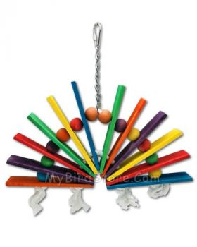 Over The Rainbow Bird Toy - Happy Beaks