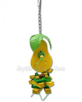 Small Pear Bird Toy - Happy Beaks