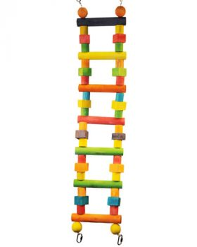 Med Wood Bendable Ladder-Happy Beaks
