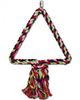 Multi Color Triangle Rope Swing - Happy Beaks