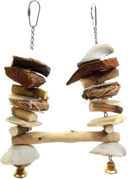 XS Sea Shell Swing-AE Java Wood