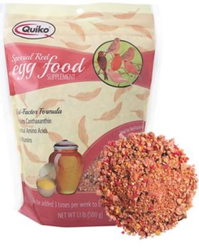 Special Red Egg Food 1.1lb - Quiko