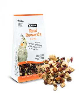 Real Reward Trail Mix MD Birds 6oz- Zupreem