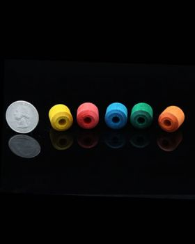 Sm Colored Beads 4pk
