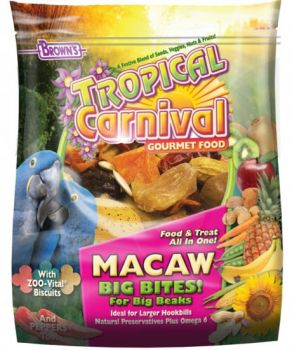 14lb Macaw Tropical Carnival-Brown's