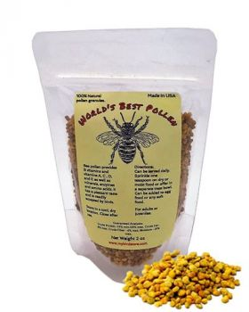 2oz World's Best Pollen - World's Best