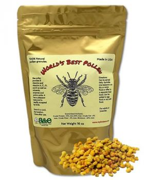 16oz World's Best Pollen - World's Best