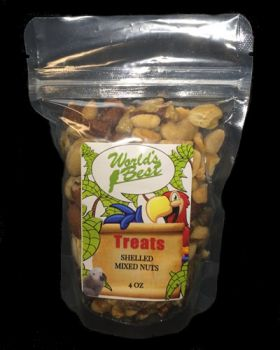 Shelled Mixed Nuts 4oz