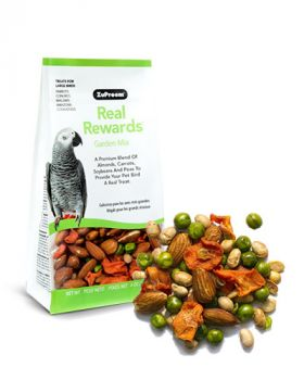 Real Reward Garden Mix LG Birds 6oz- Zupreem