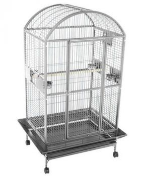 36 x 28 Dome Top Stainless Steel A&E Cage