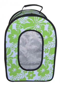 Sm Green Soft-Sided Fabric Carrier A&E