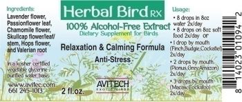 1oz Relaxation/Calming Extract