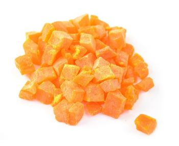 Diced Papaya